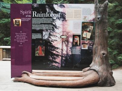 Rainforest spirit panel