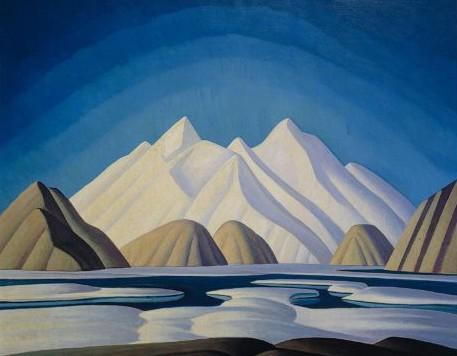 Lauren Harris Painting