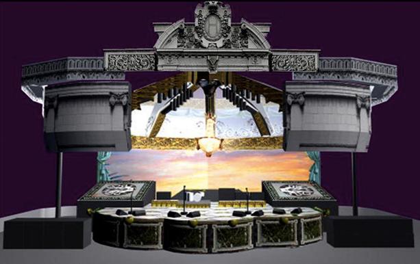 """""""Phantom Power"""" tour design"""